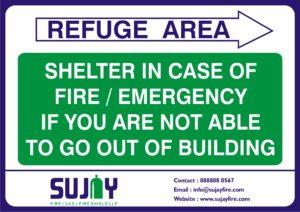 Evacuation Signages