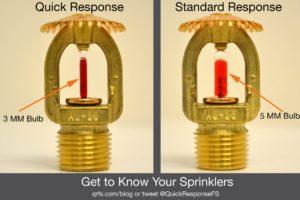 Quick Response sprinkler